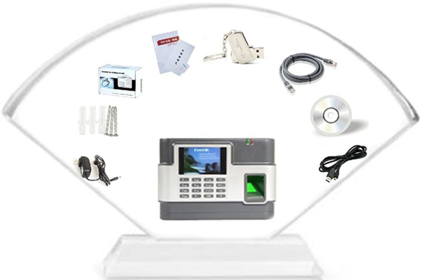 Attendance mangement  system with fingerprint scanner for time tracking